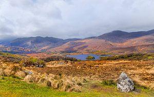 Ladies View, ein Aussichtspunkt entlang des Ring of Kerry im Killarney National Park, Irland.