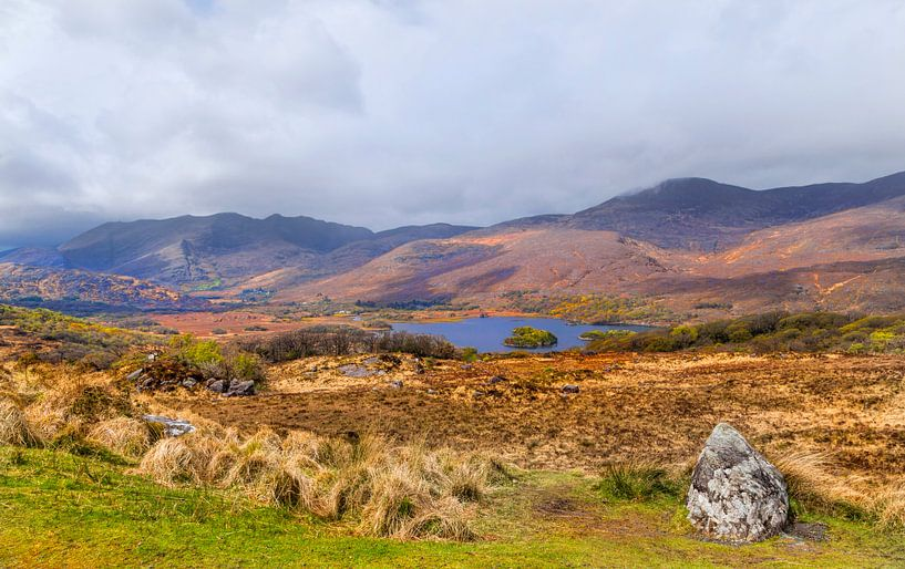 Ladies View, ein Aussichtspunkt entlang des Ring of Kerry im Killarney National Park, Irland. von Mieneke Andeweg-van Rijn