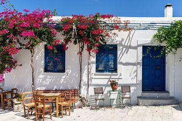 Grieks terras van Mario Calma