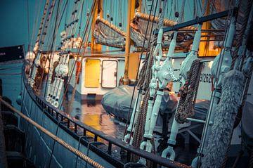 Tall-ship Santa Maria Manuela van Patrick Kerkhoff