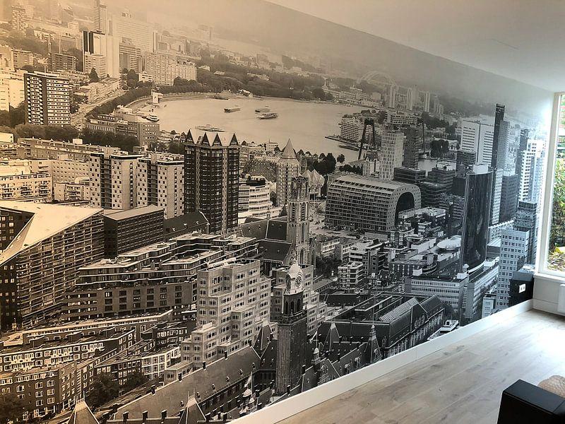Klantfoto: De skyline van Rotterdam van MS Fotografie