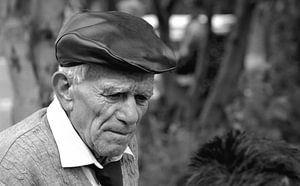 Oude Spaanse man