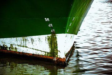 In de haven van Oudeschild ! van Scheepskijker_Havenfotografie