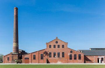 Historische Fabrik die Zukunft in Scheemda, Groningen von Marc Venema