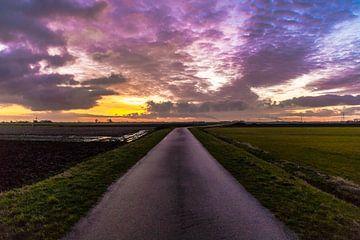 De weg naar de hemel toe von Mike Bot PhotographS