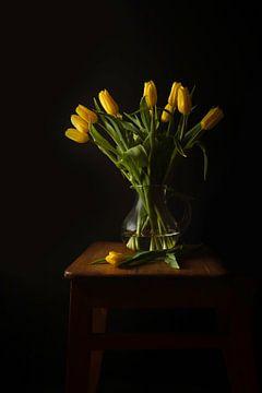 tulpen stilleven van Mandy Schreve
