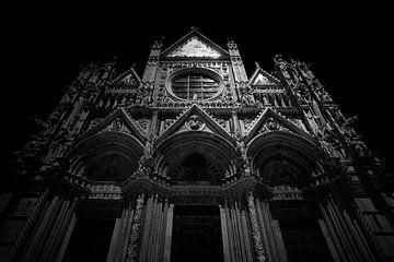 Kathedrale (Duomo), Italien (schwarz-weiß)