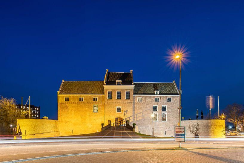 Schloss Woerden am Abend von John Verbruggen