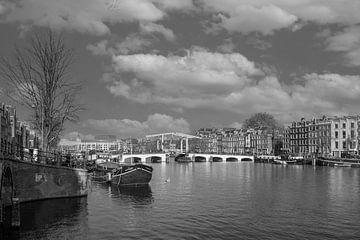 Panorama over de Amstel van Peter Bartelings Photography