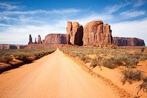 Monument Valley van Milene Bezemer