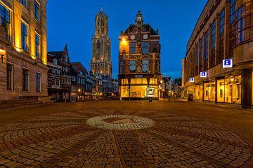 Blaue Stunde in Utrecht von Thomas van Galen