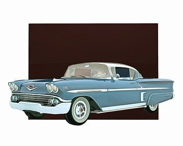 Klassieke auto – Oldtimer Chevrolet Impala Special Edition