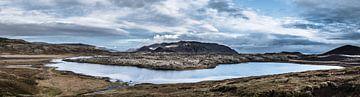 IJsland panorama van Kim van Dijk