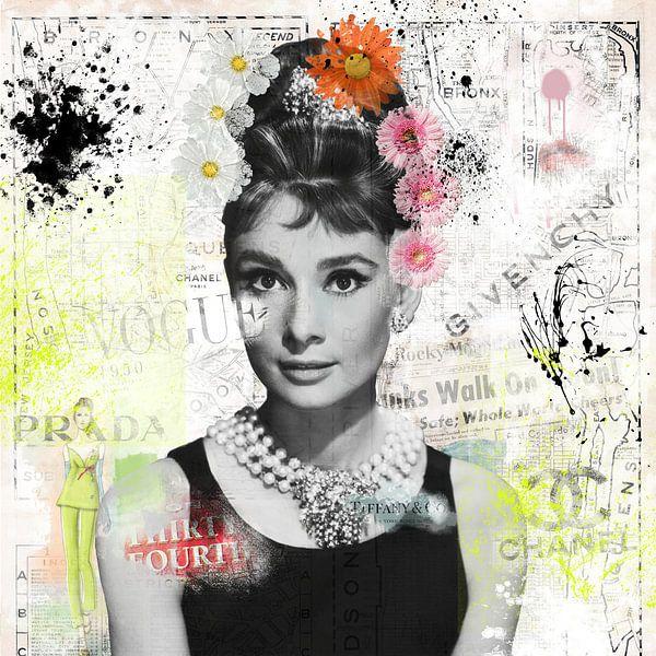 Audrey Hepburn von Rene Ladenius Digital Art
