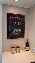 Klantfoto: Wijn van Printed Artings, op aluminium