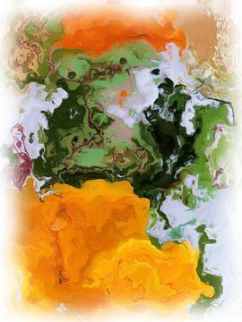Abstrakte Blumen von Maurice Dawson