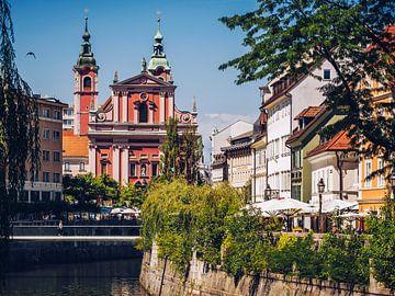 Ljubljana - Église franciscaine sur Alexander Voss