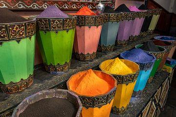 Kleurstof in Marrakech van Richard van der Woude