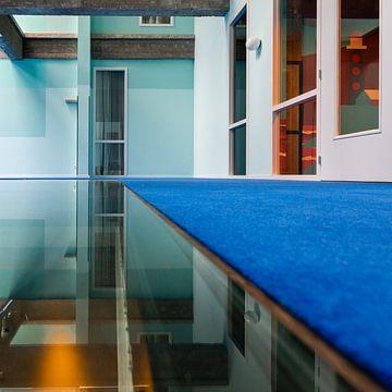 Zeilen im Hotel Zimmerkollege von Henri Boer Fotografie
