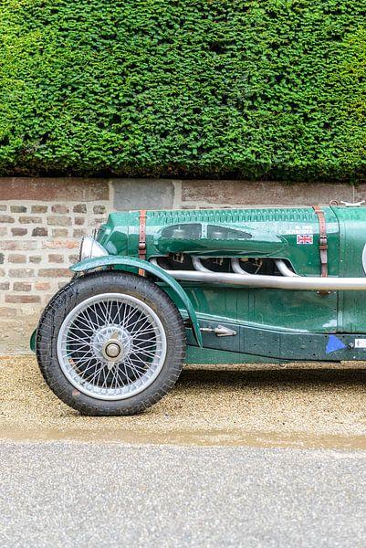 Alvis speed 25 Special Sport Britse 1936 sportwagen voorkant.