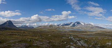 Niják en Áhkká bergketen, Sarek van Capture The Mountains