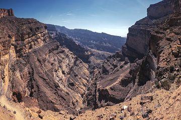 Jebel Shams Canyon Panoama sur Jean Claude Castor
