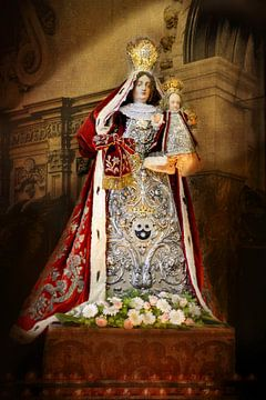 Maria met kindje jezus van Fotografie Arthur van Leeuwen