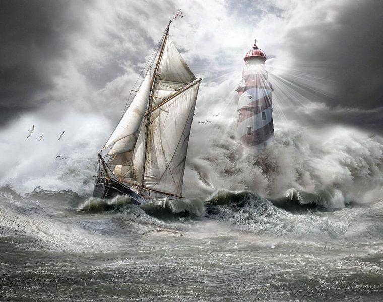 stormy weather 1 van jejaka art