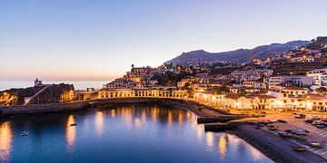 Havengebied in Câmara de Lobos op het eiland Madeira van Werner Dieterich