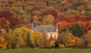 Kasteel Schaloen in herfstkleuren