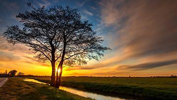 Prachtige zonsondergang van Maarten Salverda