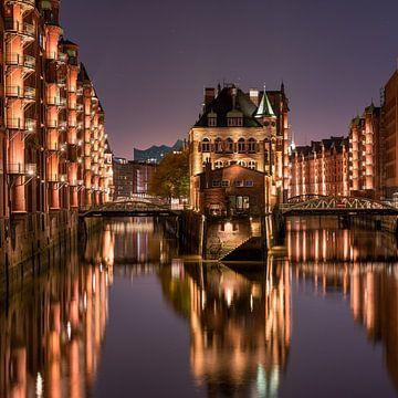 Wasserschloss in Hamburg von Jenco van Zalk