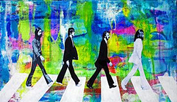 Frieden und Liebe auf der Abbey Road von Kathleen Artist Fine Art