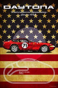 Daytona F Vintage von Theodor Decker