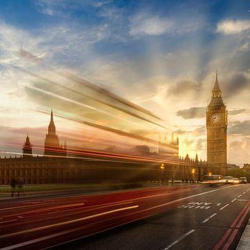 Westminster Abendatmosphäre von Melanie Viola