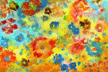 Streublumen - Verspreide bloemen von Claudia Gründler