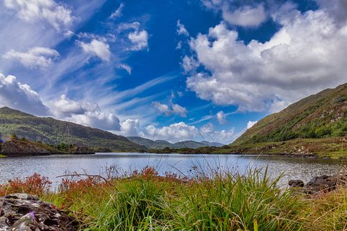 Panorama Upper Lake in Killarney National Park, Ierland