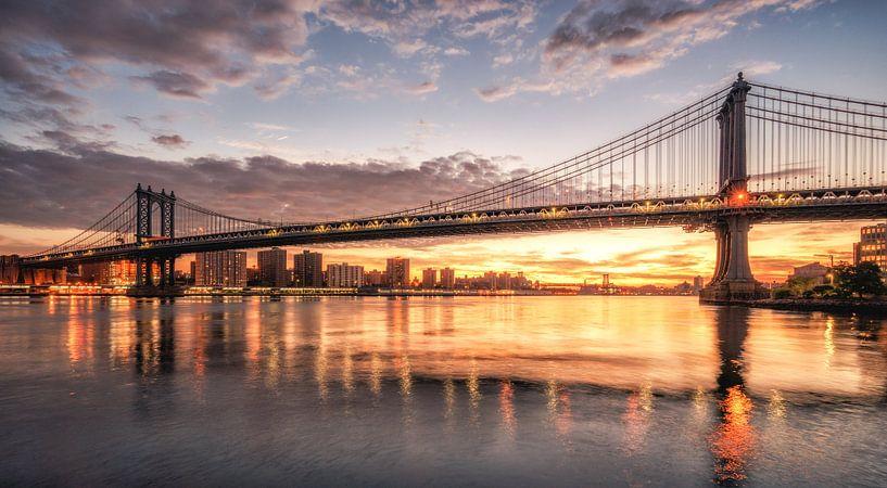 Manhattan bridge van Reinier Snijders