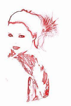 Geisha von Pauli Langbein