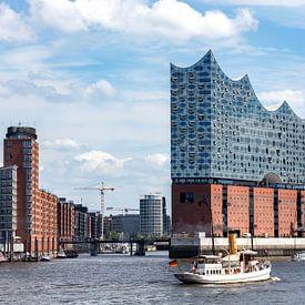 Elbphilharmonie Hamburg von Uwe Ulrich Grün
