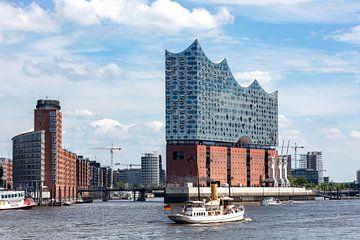 Elbphilharmonie Hamburg van Uwe Ulrich Grün