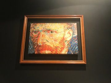 Klantfoto: Vincent van Gogh Zelf Portret van Maurits Simons