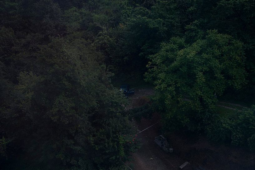 Auto in den Bergen von Emilia Aivazian Fotografie