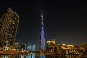 Dubai bij nacht 8 van