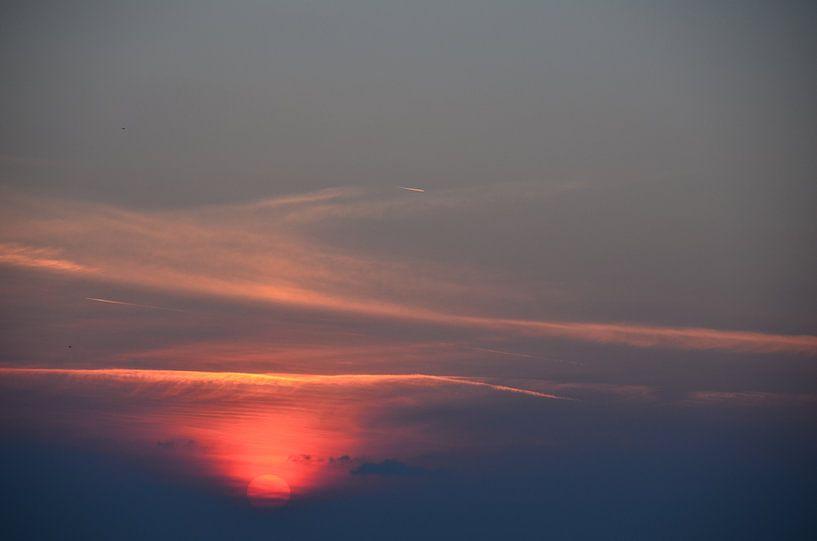 Stunning Sunset van Marcel van Duinen