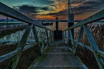 Loopbrug voor veerpont Tiel van Wijco van Zoelen