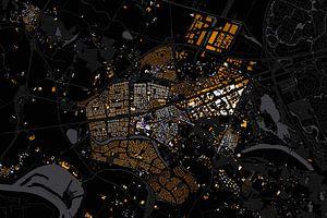 Kaart van Wijchen abstract