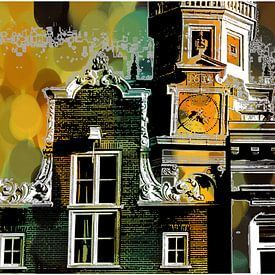 AMSTERDAM Zuiderkerk van MY ARTIE WALL