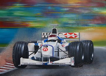 Jos Verstappen F1-Rennwagen von David Soekana