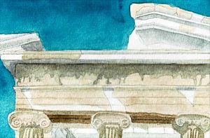 Detail des Nike-Tempels von Hayleigh Smith